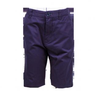 Темно-синие шорты удлиненные до колен