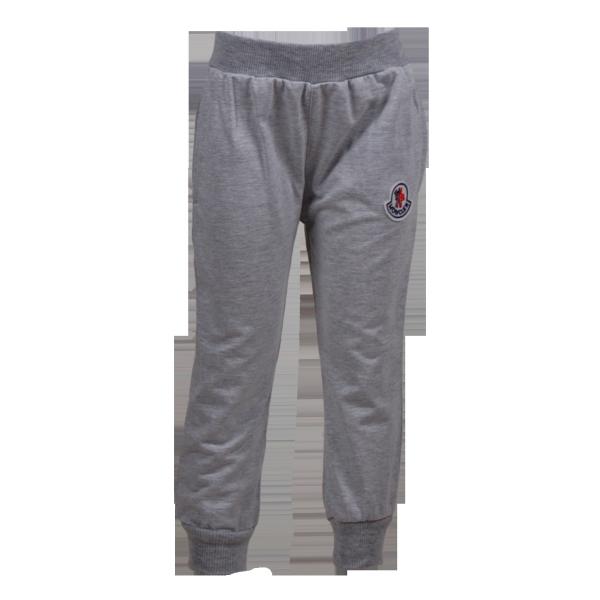 Фото: Серые спортивные штаны Монклер (артикул O 60093-grey)
