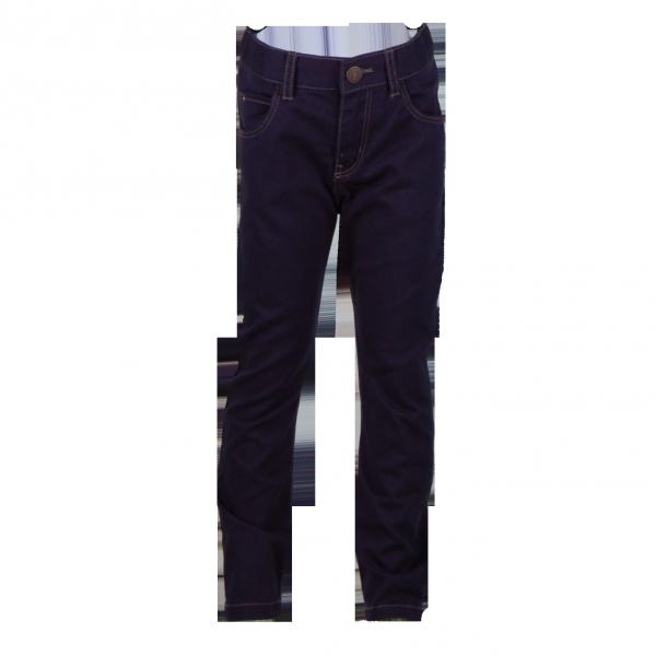 Фото: Темно-синие джинсы для детей (артикул O 60116-dark blue)