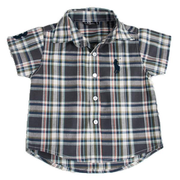 Фото: Рубашка с коротким рукавом  (артикул RL 30004-different)