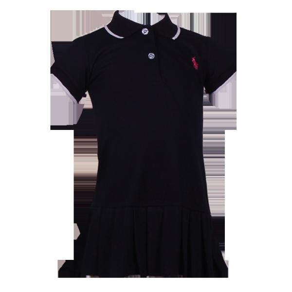 Фото: Платье Polo тёмно-синего цвета (артикул RL 50002-deep blue)