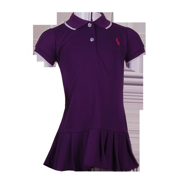 Фото: Платье Polo фиолетового цвета (артикул RL 50002-violet)