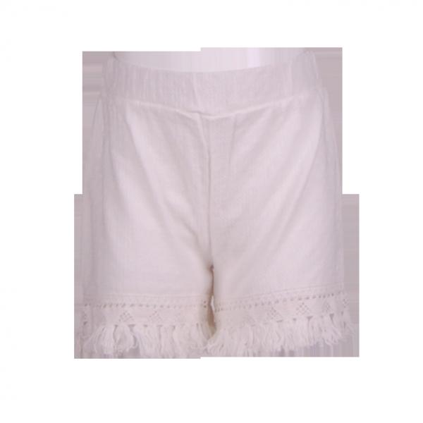 Фото: Белые шорты для девочки Zara (артикул Z 60262-white)