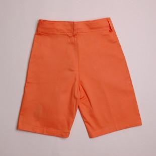 Фото: Ярко оранжевые детские шорты с лого POLO (артикул Rl 60010-orange) - изображение 4