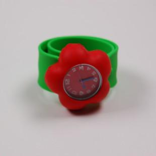 Цветные часики с цветком