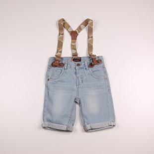 Фото: Soul & Glory. Джинсовые шорты для маленьких мальчиков (артикул O 60082-jeans) - изображение 3