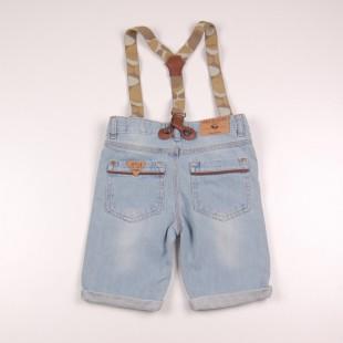 Фото: Soul & Glory. Джинсовые шорты для маленьких мальчиков (артикул O 60082-jeans) - изображение 4