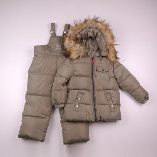Фото: Костюм детский зимний Bogner (артикул O 70038-khaki) - изображение 3