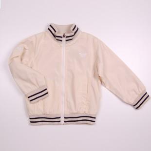 Фото: Куртка на молнии (артикул O 10061-milk) - изображение 3