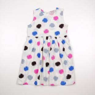 Фото: Платье в яркий горошек (артикул O 50282-colored) - изображение 3