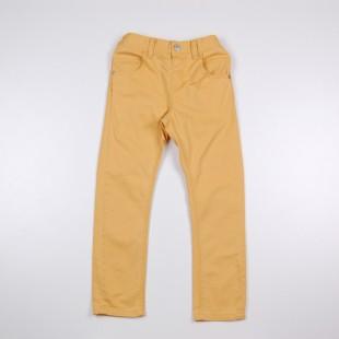 Фото: Детские джинсы желтого цвета с манжетами купить  (артикул O 60074-yellow) - изображение 3
