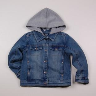 Фото: Куртка джинсовая с капюшоном (артикул Gs 10003-jeans) - изображение 3