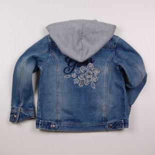 Фото: Куртка джинсовая с капюшоном (артикул Gs 10003-jeans) - изображение 4