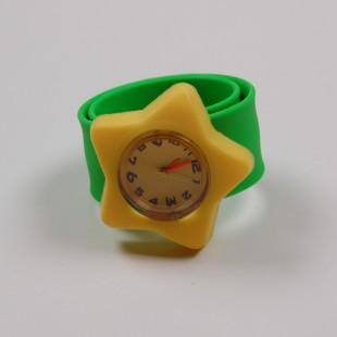Часы жёлто-зелёные