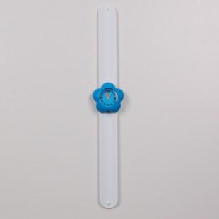 Часы с синим цветком