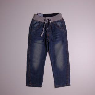 Фото: Стильные детские джинсы на резинке (артикул Z 60167-jeans) - изображение 3
