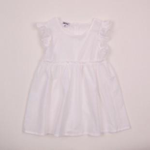Фото: Платье с пуговицами на спине (артикул O 50198-white) - изображение 3