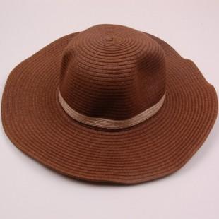 . Шляпа коричневого цвета