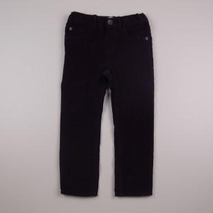 Фото: Чёрные вельветовые штаны (артикул O 60109-black) - изображение 3