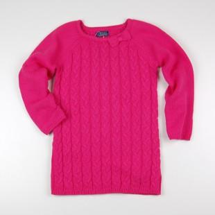 Фото: Minoti. Платье вязаное розового цвета (артикул O 50289-pink) - изображение 3