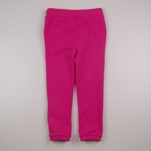 Фото: Детские спортивные штаны розового цвета для девочки  (артикул O 60110-pink) - изображение 4