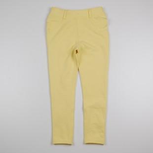 Фото: Леггинсы желтого цвета для девочки (артикул O 60111-yellow) - изображение 3