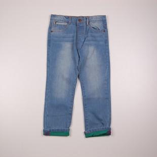 Фото: Джинсы с цветной подкладкой (артикул Z 60133-jeans) - изображение 3
