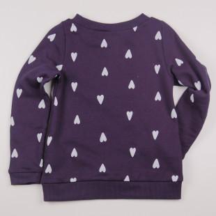 Фото: Свитшот для девочки фирмы H&M (артикул O 20117-dark blue) - изображение 4