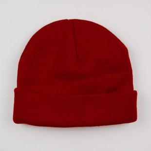 Детская шапка с подворотом