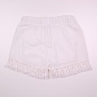 Фото: Белые шорты для девочки Zara (артикул Z 60262-white) - изображение 4