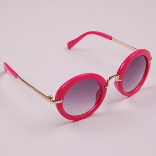 Фото: Детские очки с круглой оправой (артикул A 50049-pink) - изображение 2