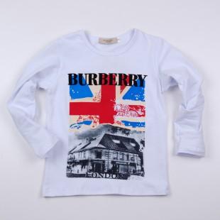 Фото: Кофточка  с большим флагом Великобритании (артикул В 30058-white) - изображение 3