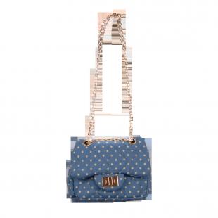 Джинсовая сумочка на цепочке