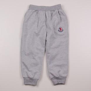 Фото: Серые спортивные штаны Монклер (артикул O 60093-grey) - изображение 3