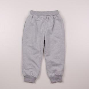 Фото: Серые спортивные штаны Монклер (артикул O 60093-grey) - изображение 4