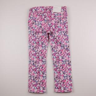 Фото: Цветные детские джинсы с принтом (артикул O 60115-pink flowers) - изображение 4