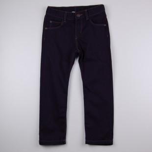Фото: Темно-синие джинсы для детей (артикул O 60116-dark blue) - изображение 3