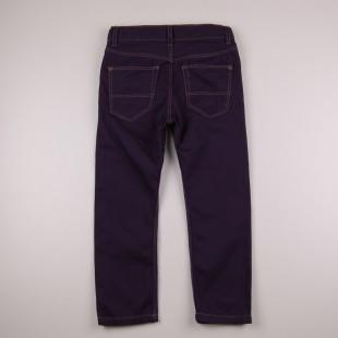 Фото: Темно-синие джинсы для детей (артикул O 60116-dark blue) - изображение 4