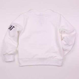 Фото: Стильный свитшот Zara для детей (артикул Z 20044-white) - изображение 4