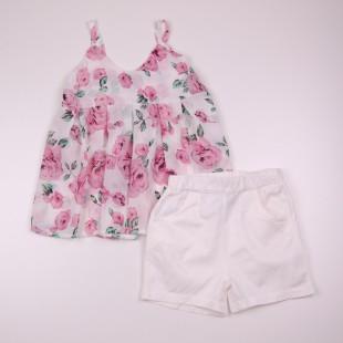 Фото: Нарядный костюм для девочки (артикул Z 50187-light pink) - изображение 3