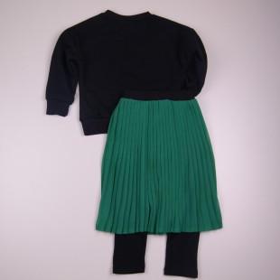 Фото: Стильный костюм для девочки Zara (артикул Z 50190-green) - изображение 4