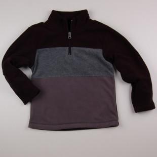 Фото: Спортивная худи для мальчика (артикул O 20123-black-grey) - изображение 3