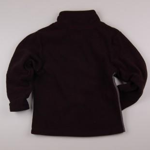 Фото: Спортивная худи для мальчика (артикул O 20123-black-grey) - изображение 4