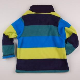Фото: Разноцветная толстовка для мальчика (артикул O 20125-stripes) - изображение 4
