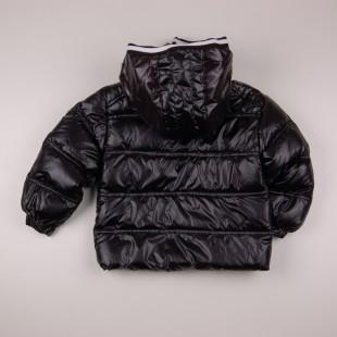Фото: Зимняя куртка для мальчика (артикул O 10176-black) - изображение 4