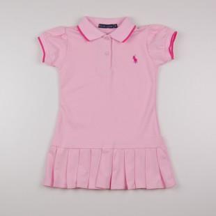 Фото: Платье Polo с плиссированной  юбкой (артикул RL 50002-light pink) - изображение 3