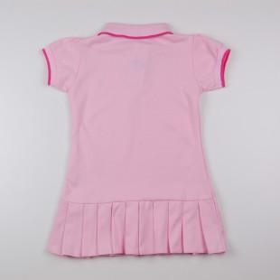 Фото: Платье Polo с плиссированной  юбкой (артикул RL 50002-light pink) - изображение 4