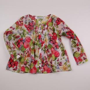 Фото: Туника с ягодным принтом (артикул O 30106-flowers) - изображение 3