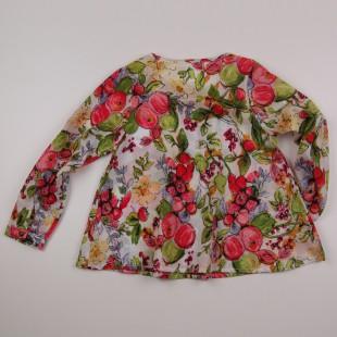 Фото: Туника с ягодным принтом (артикул O 30106-flowers) - изображение 4