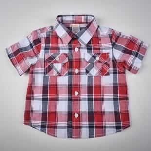 Фото: Gymboree. Рубашка в клетку (артикул O 30081-red) - изображение 3